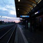Bahnhof mit dem Fahrrad in der DB