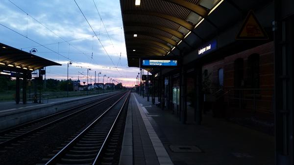 Kein Zug zurück…