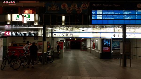 DB Bahnhof Cottbus - Fahrradmitnahme DB