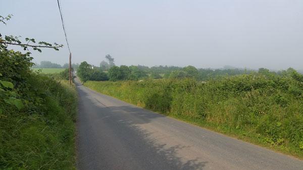 Straße bei Castletown