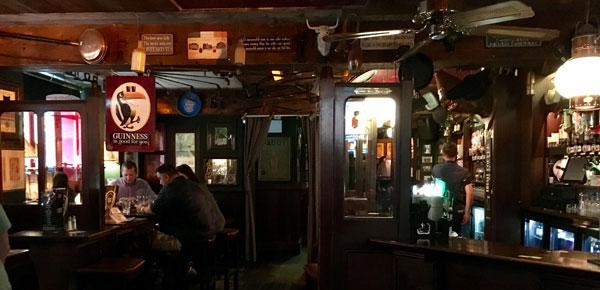 Die typische Pub-Atmosphäre