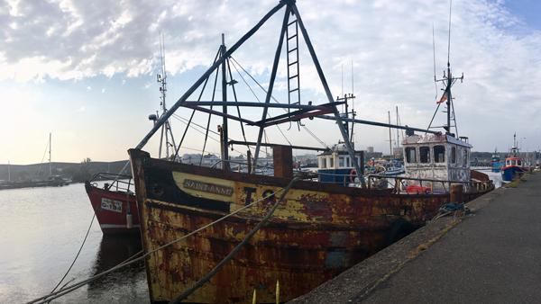 Hafen in Arklow