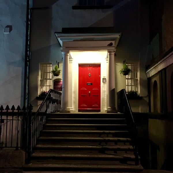 Die Iren achten sehr auf Tür-Design