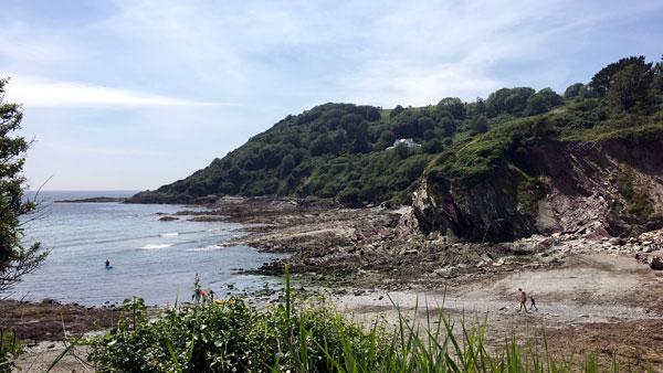 Bucht bei Talland Bay