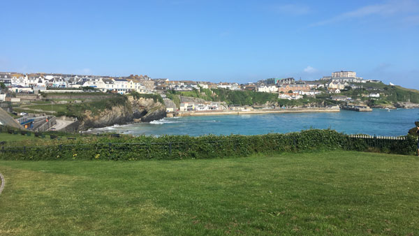 Bucht in Newquay