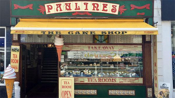 Tee- und Kuchen Shop in Newquay