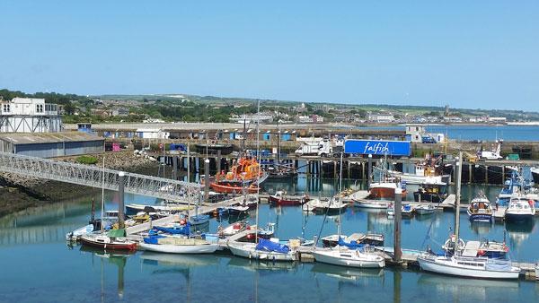 Hafen bei Penzance