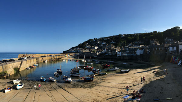 Hafen in Mousehole