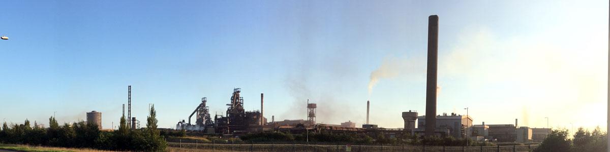 Industriegebiet Port Talbot