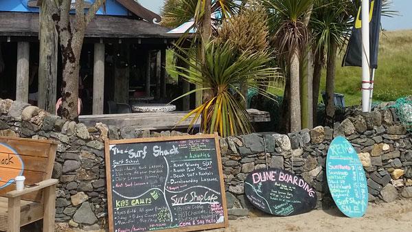 Surf Bar am Ballinesker Beach