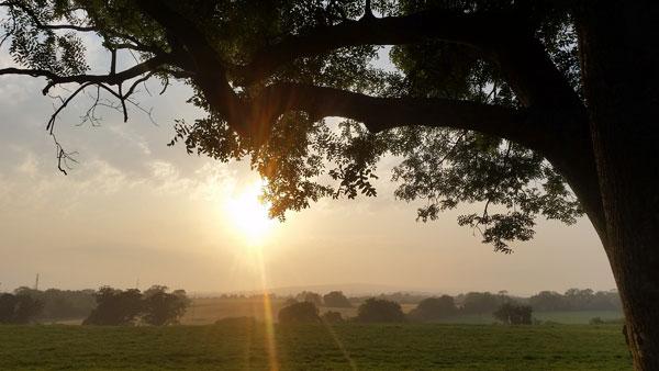 Sonnenuntergang bei Arklow