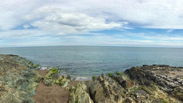 Küste in Greystone