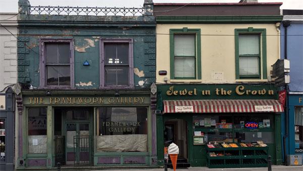 Kleine Geschäfte in Dún Laoghaire